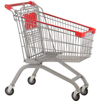 <b>人字欧式超市购物车</b>
