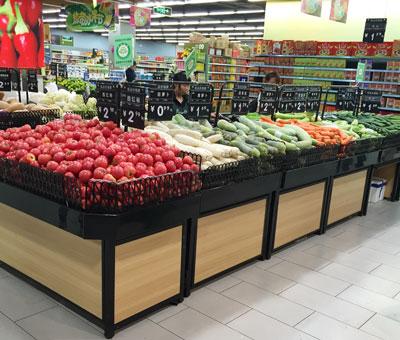 成都蔬菜水果货架批发