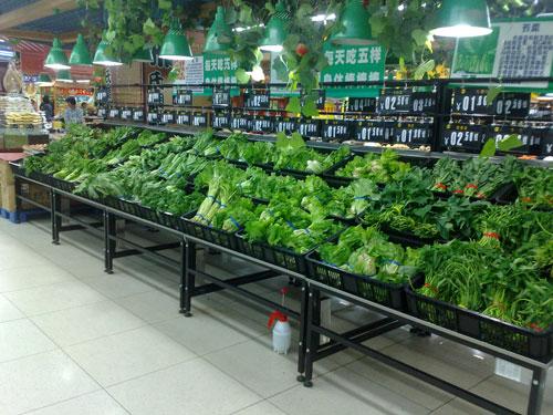 <b>三层托框蔬菜货架厂家</b>