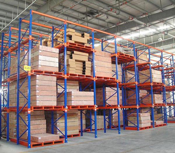 成都某大型工厂仓库货架案例