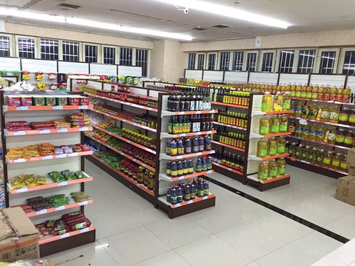 超市双面货架