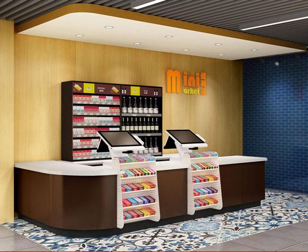 【产品用途】 这款精品组合收银台是一款大众行的商超货架,适合在一些便利店、药店、母婴店之类的店铺适用;也可以在一些化妆品店,进口食品店里面使用。方便顾客,可以把选购物品放在上面,减轻购物的负担;提升商品的流通率,加快顾客的结账时间,避免顾客因耽搁时间长而放弃购物。