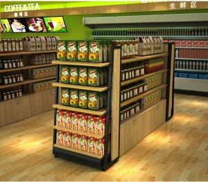 进口食品超市货架案例展示