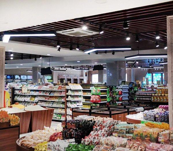 宜宾康多多生鲜超市货架案例分享